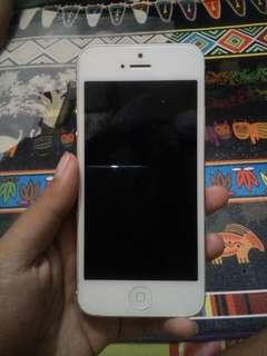 Dijual cepat iphone 5 16gb