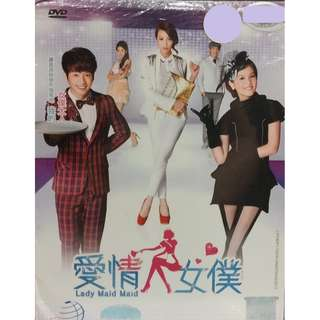 Taiwan Drama Lady Maid Maid 爱情女仆 张栋樑 DVD