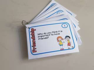 Friendship Task Cards (Social Skills)