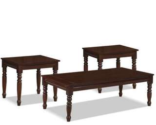 BRAND NEW 3 PIECE COFFEE TABLE & END TABLES SET (CT/ET03)