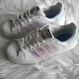 Adidas Superstars Holographic Stripe