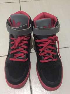 Pre loved Adidas high cut sneakers