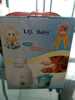 Iq baby milk bottle and food warmer