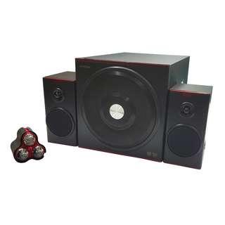 HYUNDAI 韓國現代 2.1 Speaker 喇叭 (Model: HY-760)