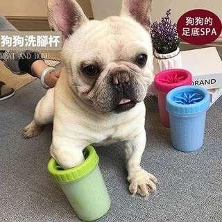 🚚 【超便利】大中小 寵物外出洗腳器