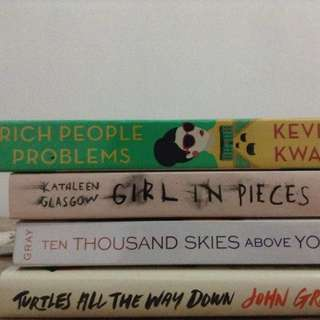 Rich People Problems Girl In Pieces Ten Thousand Skies Above You Turtles All The Way Down