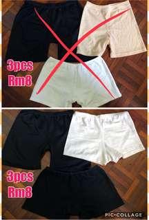 Panty shorts