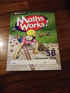 Primary 5 Workbook Maths Works! 5B Part 2