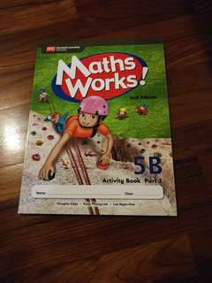 Primary 5 Workbook Maths Works! 5B Part 1