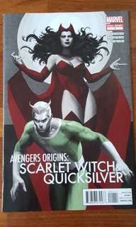 Avengers Origins : Scarlet Witch & Quicksilver