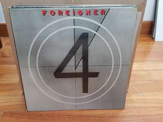 Foreigner 4 Vinyl LP Original Pressing Rare