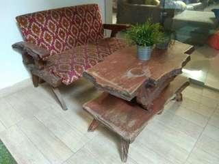 Sofa Antik Asli Jati tahun 1940-an