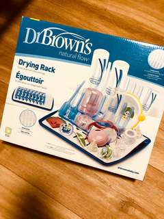 Dr Brown's Drying Rack and Insulated bottle tote
