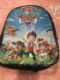 Instock Paw Patrol bag ht 33cm brand new