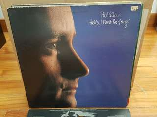 Phil Collins Hello I Must Be Going Vinyl LP Original Pressing Rare