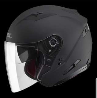 ☆宥鈞機車騎士精品☆SOL安全帽SO-7 SO7素色消光黑買就送電彩鏡片LED警示燈可加防護下巴半罩