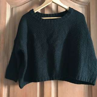 Korea Knit crop pullover