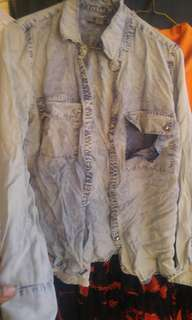 Denim / soft jean shirt