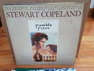 Rumblefish Original Soundtrack Vinyl LP Original Pressing Rare
