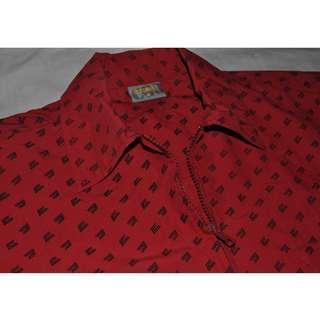 Red Jacket Ori Chargers Men Lelaki