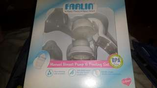 Breast pump and pacifier