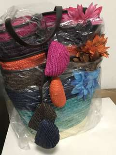 HANDBAG - wicker bags - Mother's Day bag