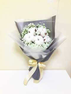 Mixed Flower 🌼 Cotton Flowers and Bb