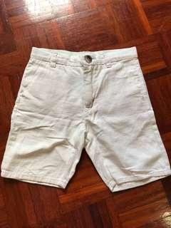 HM 4-5y linen shorts