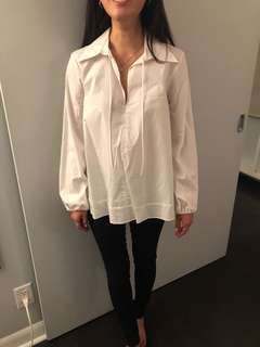 Zara long sleeve blouse
