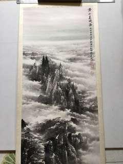 中国水墨画 121x45cm Chinese painting