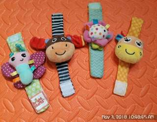Baby wrist Rattle toy