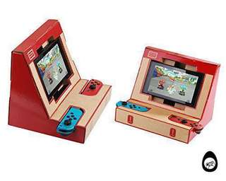(INSTOCK!!!) Nintendo LABO Old school retro arcade Mount for Nintendo Switch