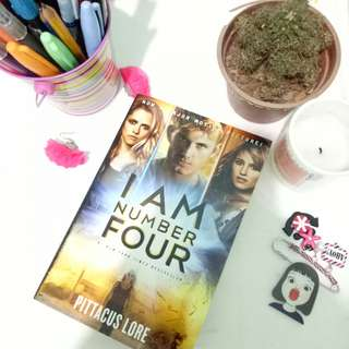 I AM NUMBER FOUR -by Pittacus Lore