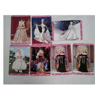 1997年芭比娃娃收集卡 收藏卡  (照片中全部一起賣,不分售/面交/議價/換物/平信/退換/批貨)