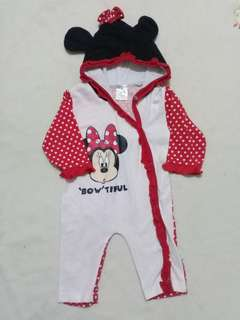 Mickey mouse frogsuit, 4-6m