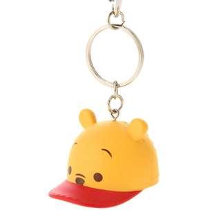 Japan Disneystore Disney Store Pooh Cap Keychain