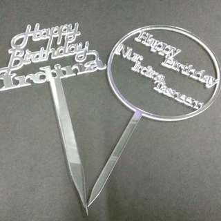 customize cake topper