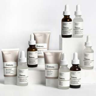 <NEW STOCK> The Ordinary Skincare