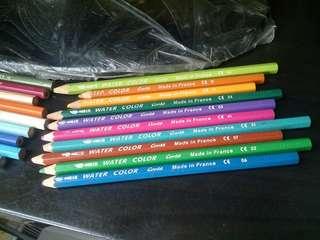 Pensil warna merek conte made in france water color 19 pcs