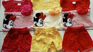 stelan mickey stripes 3 warna