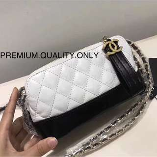Chanel Gabrielle clutch on Chain