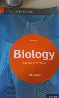 IB Biology Study Guide (2014 edition)