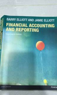 Financial accounting and reporting book