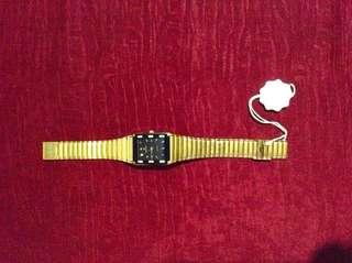 Mema Men's Watch 22 K Gold Plated