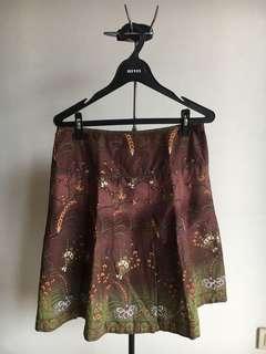 Iora Brown Skirt / Rok Coklat