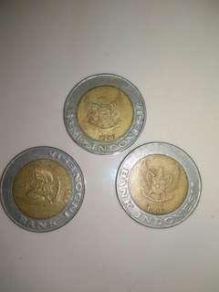 Uang logam kelapa sawit tahun 1996