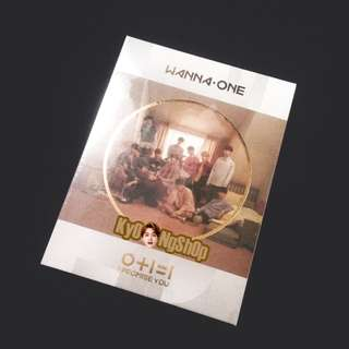 [WTS/READY STOCK] WANNA ONE I PROMISE YOU DAY COVER