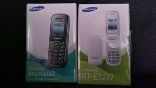 Samsung GT-E1272 dan GT-E1205Y