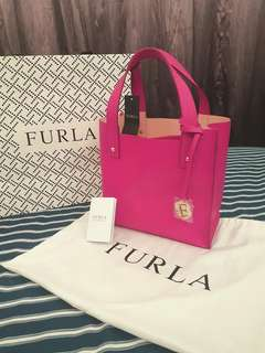 BN Furla Musa Medium Saffiano Leather Tote (Authentic)