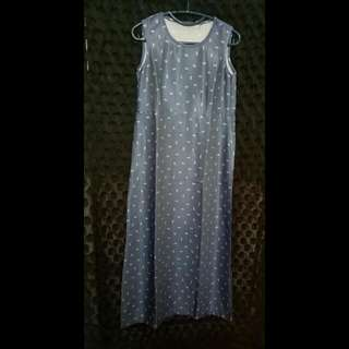 Dress Panjang Denim